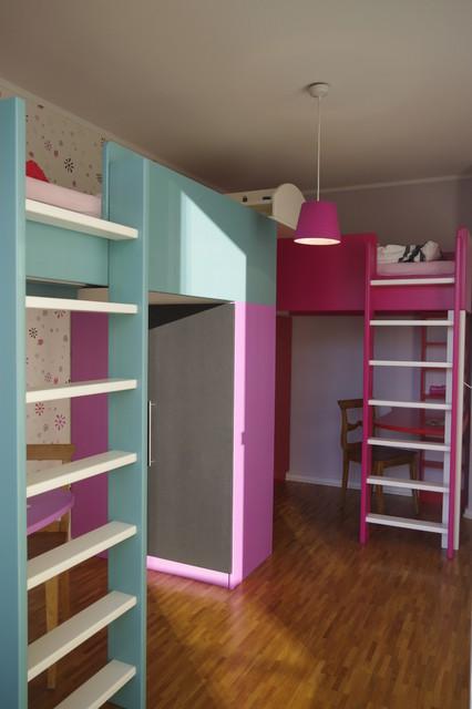 Kinderzimmer für zwillinge   modern   kinderzimmer   hamburg   von ...