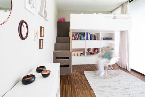 Mädchenzimmer | Hochbett