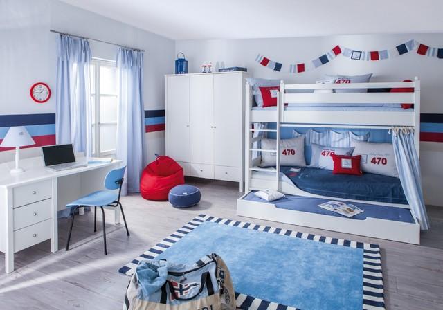 sailing maritim kinderzimmer m nchen von annette frank m bel und textilien f r kinder. Black Bedroom Furniture Sets. Home Design Ideas