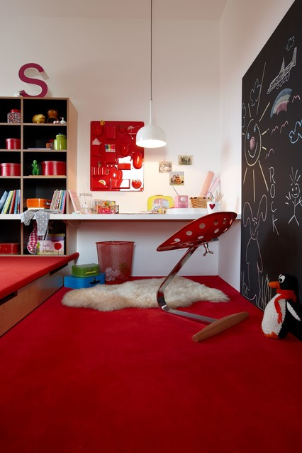 sch ner wohnen haus modern kinderzimmer stuttgart von burkhard he. Black Bedroom Furniture Sets. Home Design Ideas