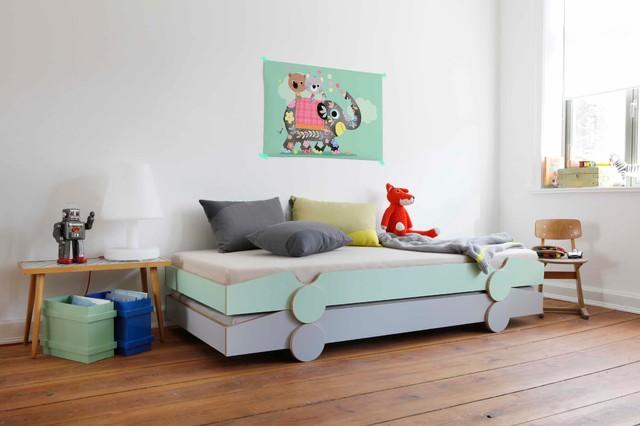 Moderne Kinderzimmer: Design-ideen, Bilder & Beispiele | Houzz Babyzimmer Modern Gestalten