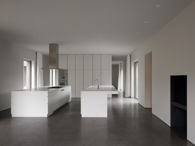 0505 house (icw david chipperfield architects) - Modern - Küche ...