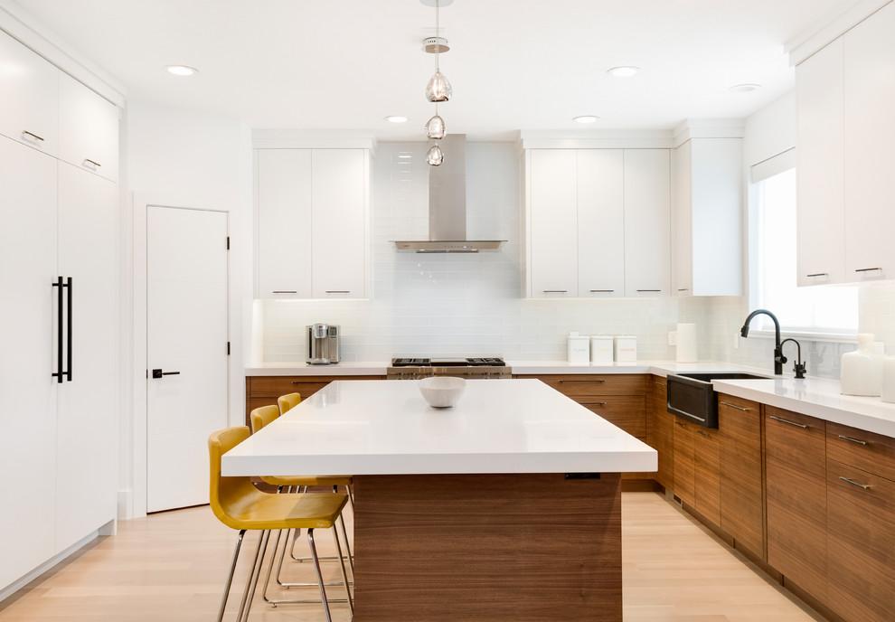 07 Provo Utah Remodel Contemporary Kitchen Salt Lake City By Masterpiece Millwork Door