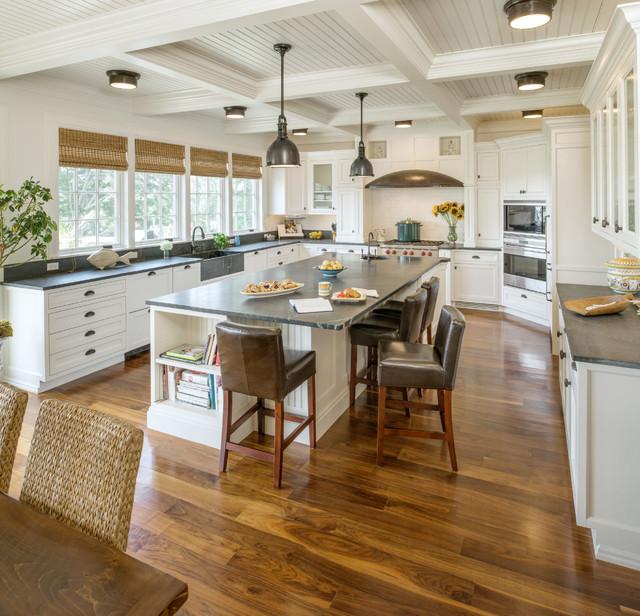 Bristol RI Residence - Beach Style - Kitchen