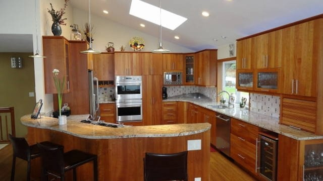1 Bremerton 39 S Chico Way Kitchen Fireplace Remodel Contemporary Kitchen Seattle By