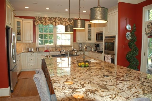 10 foot island traditional kitchen dc metro by