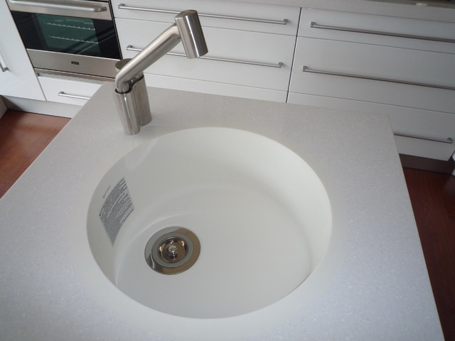 100 Mma Solid Surface Circle Sink Kitchen Sinks Jb 450