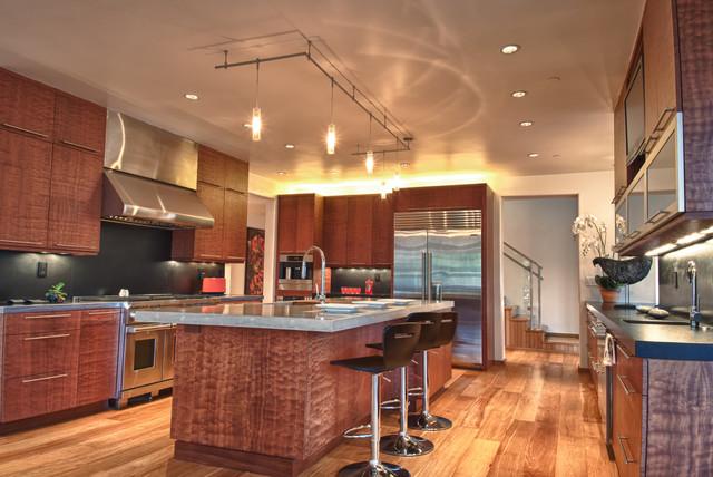 100 Via Milpitas Carmel Valley contemporary-kitchen