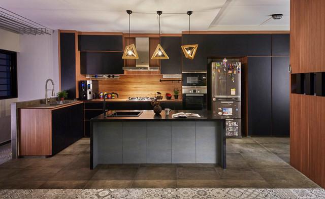105 Jalan Rajah contemporary-kitchen