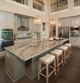 105 Rancho Trail - Partners in Building - Transitional - Kitchen - Austin
