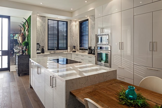 1095 royal york eclectic kitchen toronto by peter - Deco interieure maison ...