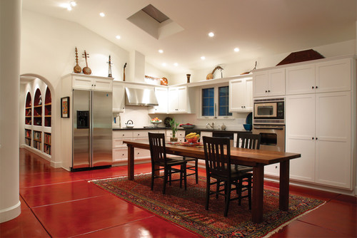 Sabet-Wood Residence mediterranean kitchen