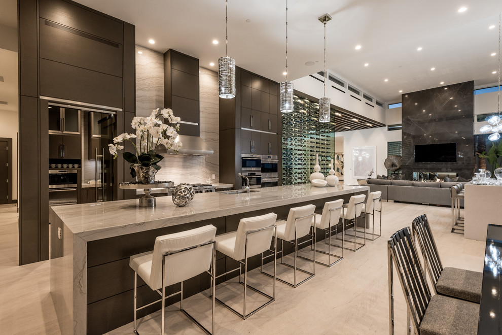 Modern Kitchen Cabinets Las Vegas 1210 Macdonald Ranch   Contemporary   Kitchen   Las Vegas   by