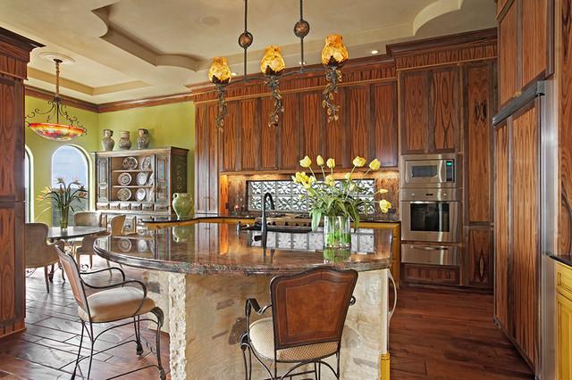 13229 Villa Montana mediterranean-kitchen