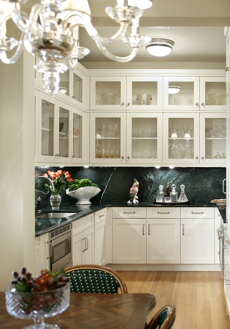 15 Central Park West traditional-kitchen
