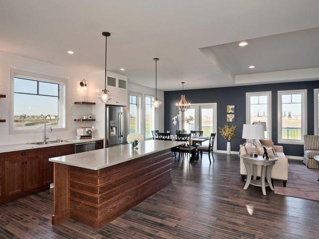 150 Lake Bend, Winnipeg transitional-kitchen