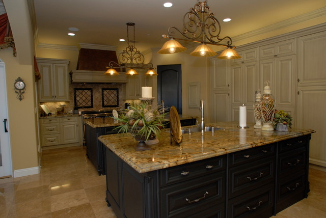 16 000 Square Foot Mediterranean Estate Mediterranean Kitchen Other By Sweaney Custom