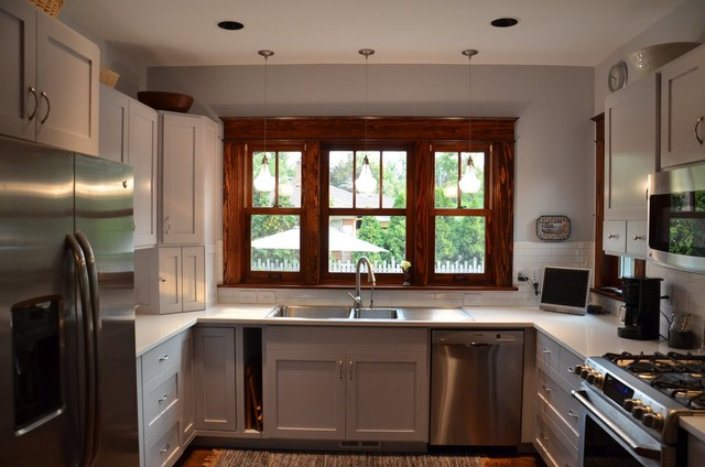 1709 North 20th Street traditional-kitchen