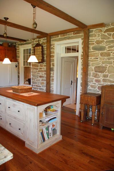 1800 S Farmhouse Kitchen Remodel Traditional Kitchen