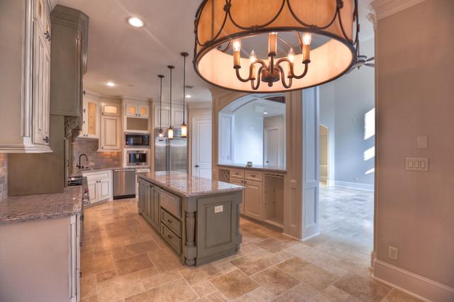 1801 Driscoll Street, Houston TX 77019 traditional-kitchen