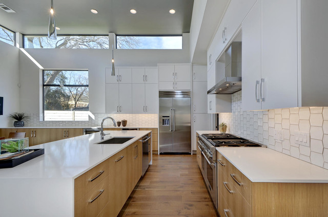 1817 Dexter Contemporary Kitchen Austin By Moazami