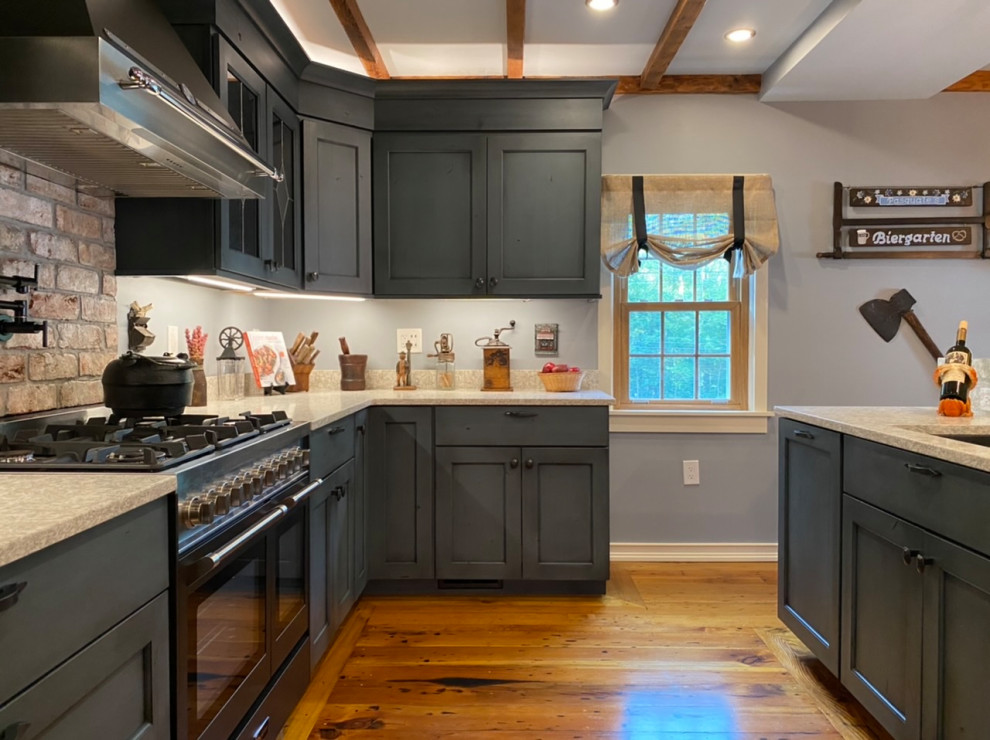 1840's Farmhouse Custom Kitchen