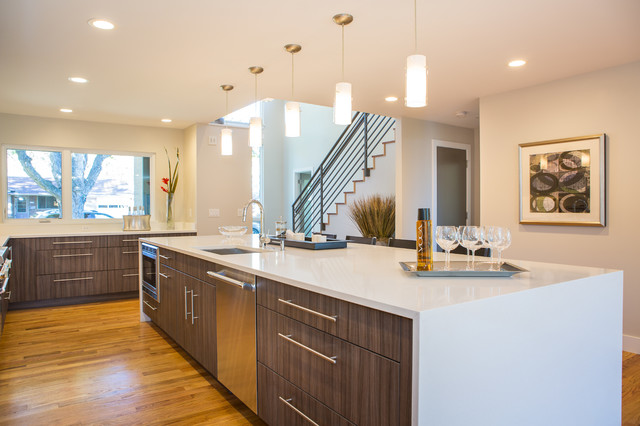 18th st boulder modern kitchen denver by property staging services - Kitchen design boulder ...