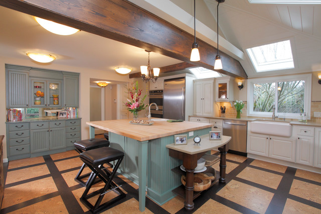 1900 House Contemporary Kitchen Portland By Square