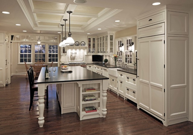 1900s Rural Farmhouse Remodel Onawa IA Kitchen Omaha By Eurowood Cabinets Inc