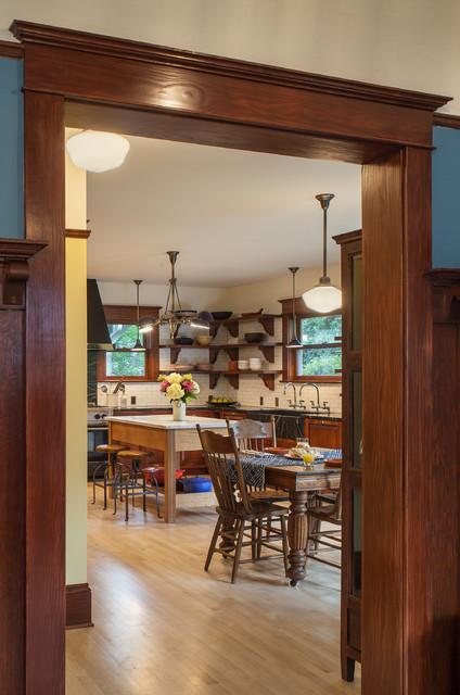 1910 Foursquare Kitchen