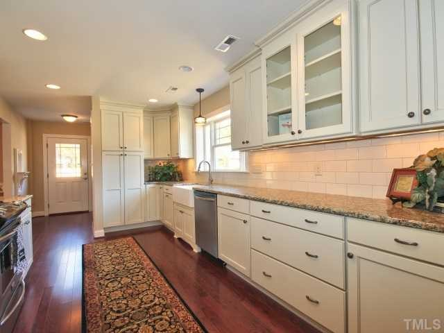 1920 home major remodel traditional kitchen raleigh for 1920s kitchen remodel