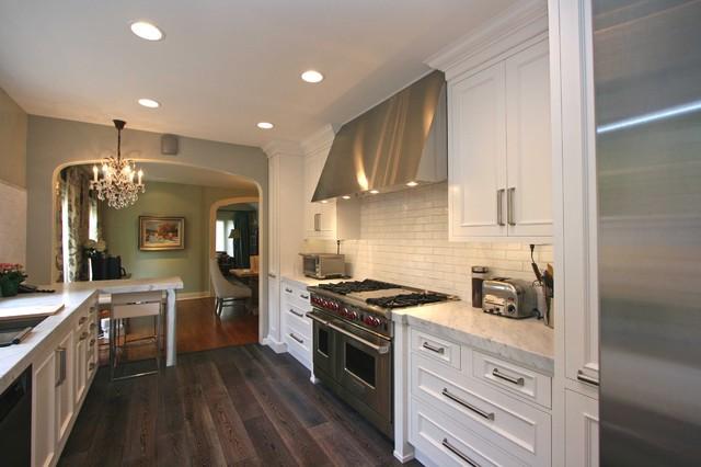1920 39 s hancock park remodel modern kitchen los for Modern 1920 s kitchen