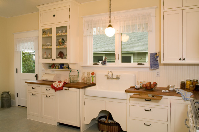 1920 S Historic Kitchen Traditional Kitchen Seattle By