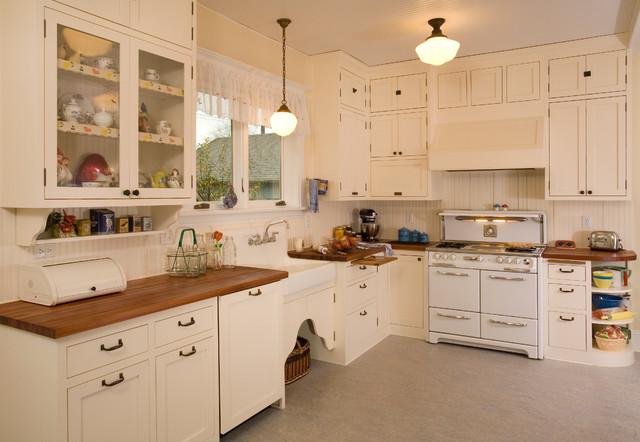 1920's Historic Kitchen - Shabby chic - Kitchen - seattle ...