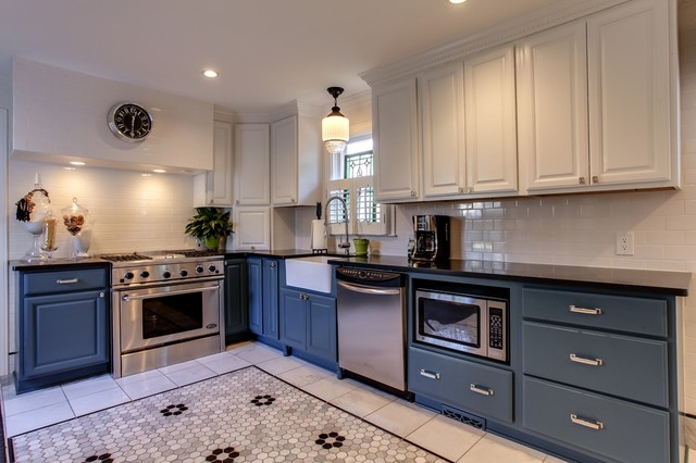 1920\'s house in Belmont area - Traditional - Kitchen ...