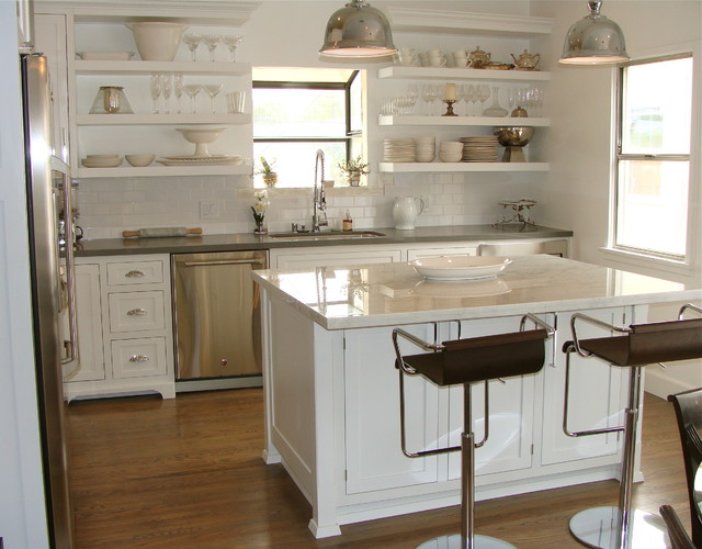 1920 39 s kitchen revival in los angeles transitional for 1920 kitchen cabinets