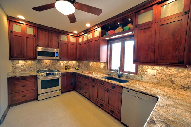 1920 S Milwaukee Bungalow Kitchen Remodel Traditional