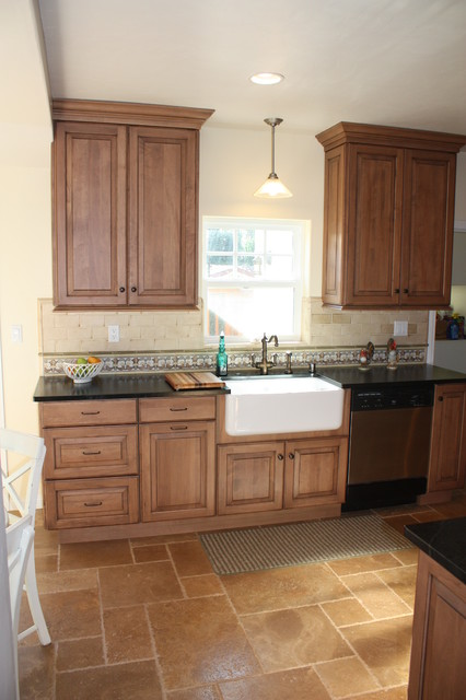 1920 39 s spanish revival home with travertine floors and for 1920s kitchen floor
