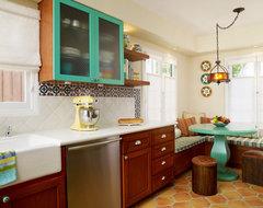 1920s Kitchen Remodel mediterranean-kitchen