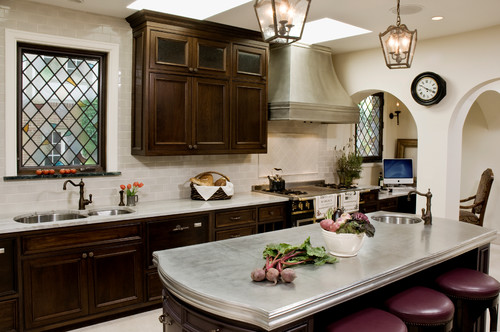 Kim hites french country antiques interiors my newest d cor love pewter countertops Kitchen design center san jose