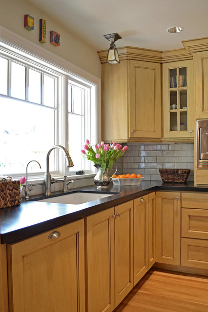 1920s Tudor Bungalow Kitchen Traditional Kitchen Portland By Brian Dittmar