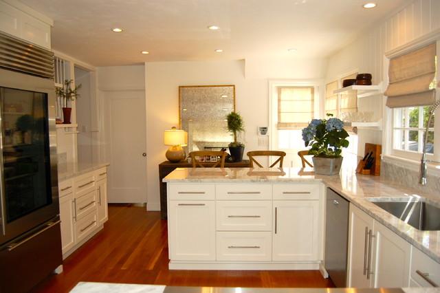1925 newport beach cottage kitchen beach style kitchen for 1925 kitchen designs