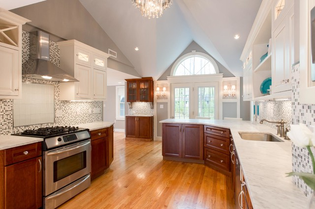 1930 39 S Elegant Renovation Traditional Kitchen Other Metro By New England Design Elements