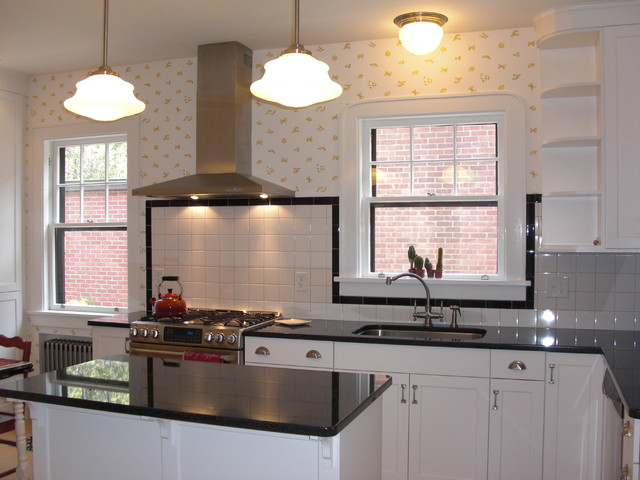 1930s art deco kitchen traditional kitchen new york for Bathroom design 1930 s home