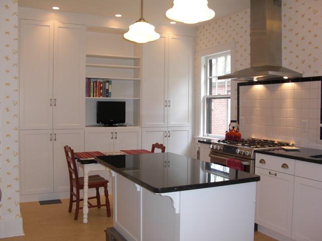 1930s Art Deco Kitchen eclectic-kitchen