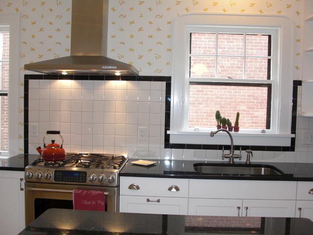 1930s Art Deco Kitchen Traditional Kitchen New York