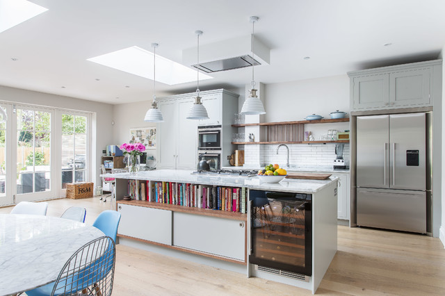 1930s london home contemporary kitchen london by Contemporary 1930s house