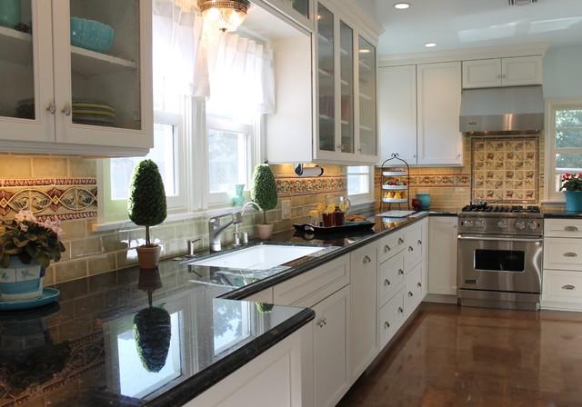 1940 39 s bungalow kitchen laundry room remodel altadena ca eclectic kitchen los angeles. Black Bedroom Furniture Sets. Home Design Ideas