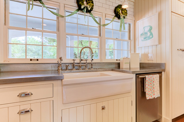 1940's Farmhouse in the City - Shabby-chic Style - Kitchen - columbus