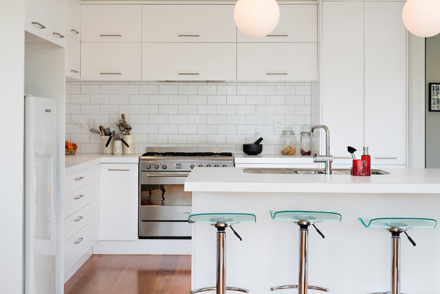1940s Renovation Contemporary Kitchen